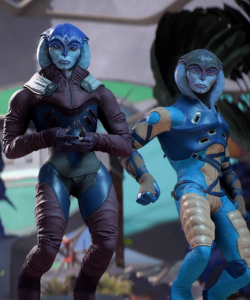 Thank gosh -- now *they* were the worst part of Andromeda. Them and the Kett.