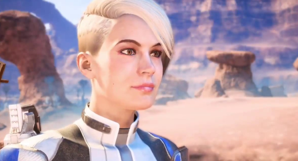 "There was quite an amount of backlash against Cora Harper prior to the game's release because -- *deep breath* -- she wasn't ""sexy."" Spoiler alert: The video game community is super gross."